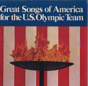 Various Artists Great Songs Of America For The U.S. Olympic Team