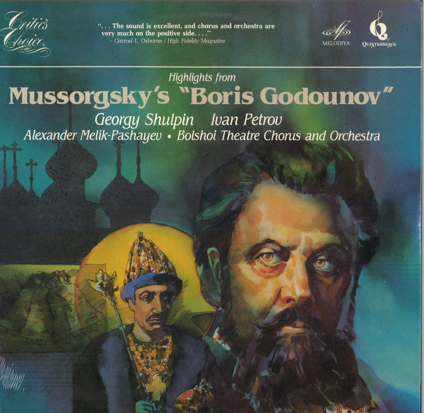 Various Artists Mussorgsky's Boris Dogounov