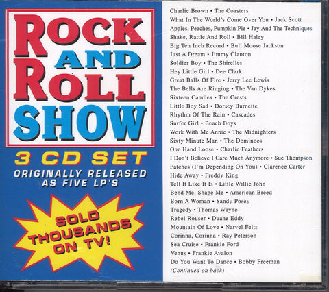 Various Artists Rock And Roll Show: 3 CD Set