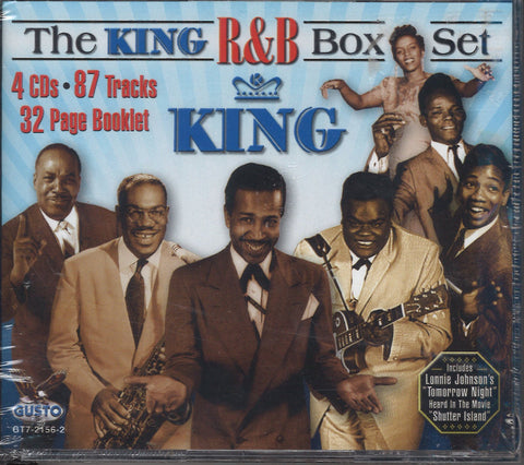 Various Artists The King R&B Box Set: 4 CD Set
