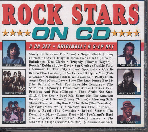 Various Artists Rock Stars On CD: 3 CD Set