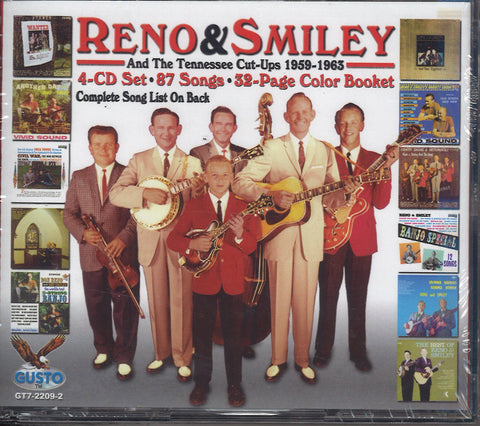 Reno & Smiley And The Tennessee Cut Ups 1959-1963: 4 CD Set