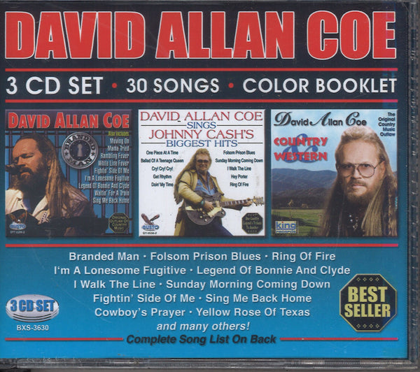 David Allan Coe: 3 CD Set