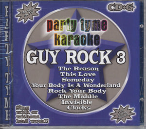 Party Tyme Karaoke Guy Rock 3