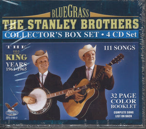 The Stanley Brothers The King Years 1961-1965: 4 CD Set