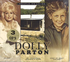 Dolly Parton Triple Feature Volume 2: 3 CD Set