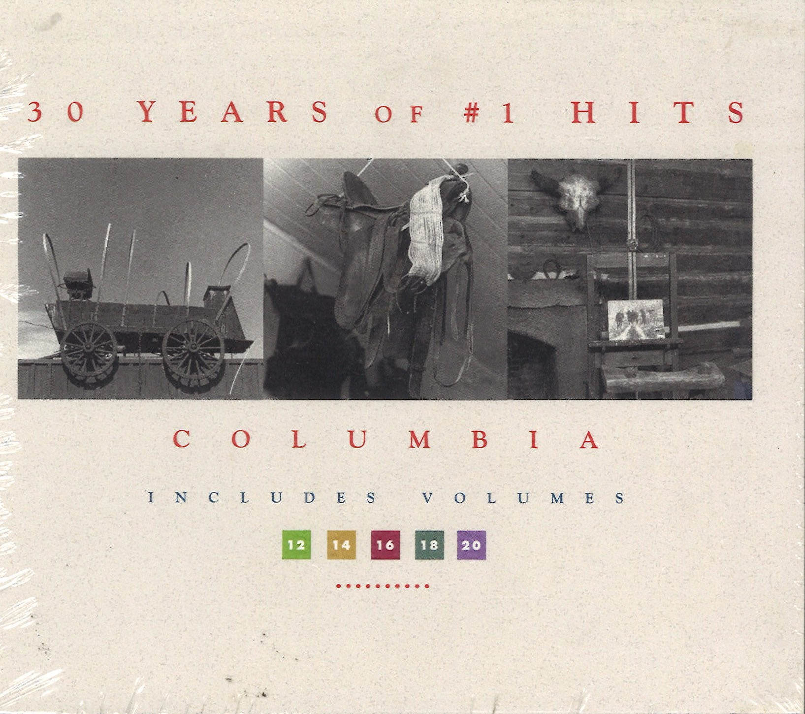 Various Artists 30 Years Of #1 Hits - Vol. 12 14 16 18 20: 5 CD Set