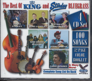 Various Artists The Best Of King And Starday Bluegrass: 4 CD Set