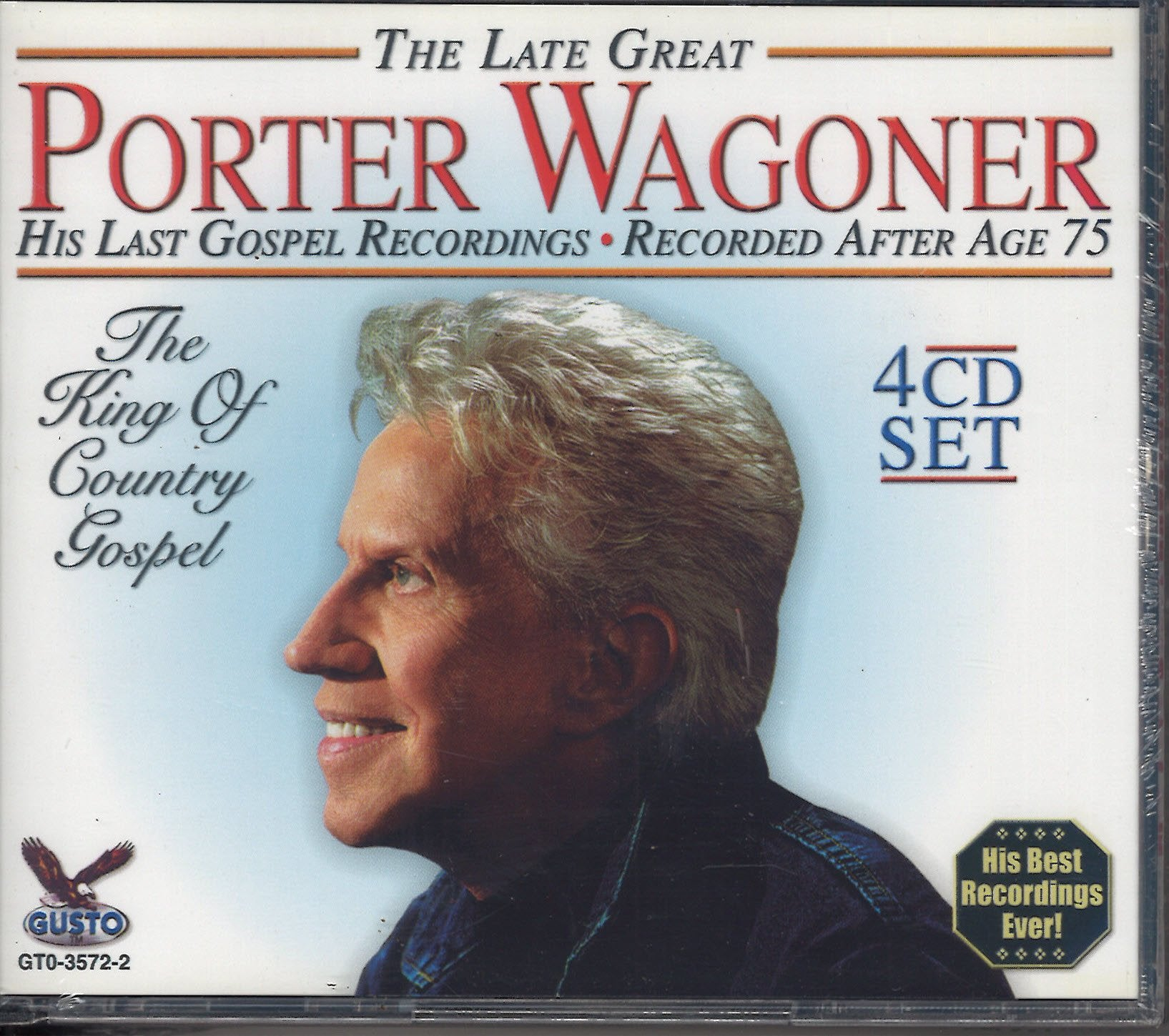Porter Wagoner His Last Gospel Recordings: 4 CD Set