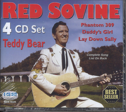 Red Sovine Teddy Bear: 4 CD Set