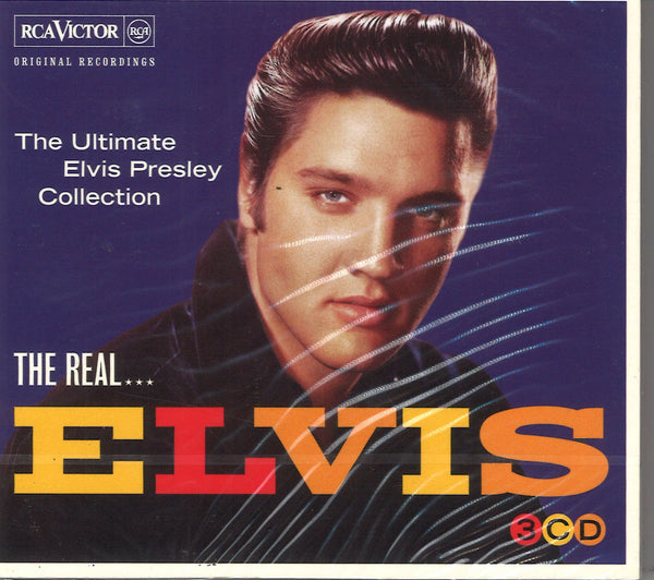 The Real Elvis Presley: 3 CD Set