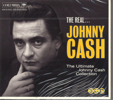 The Real Johnny Cash: 3 CD Set