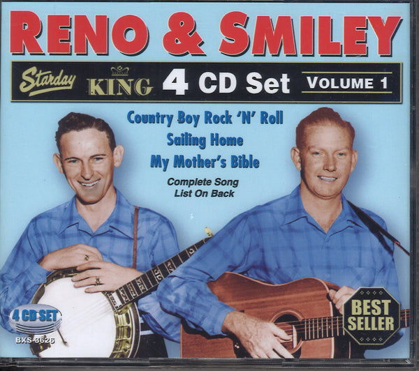 Reno & Smiley Volume 1: 4 CD Set