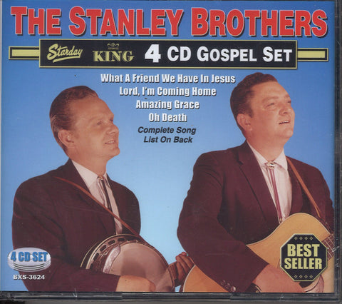 The Stanley Brothers Gospel: 4 CD Set