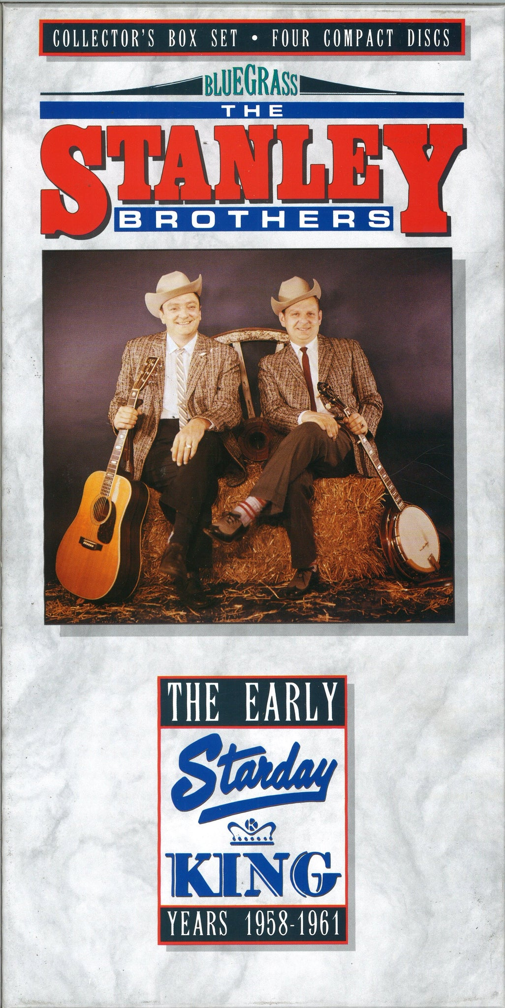 The Stanley Brothers The Early Starday King Years 1958-1961: 4 CD Set