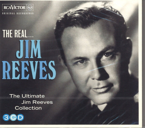 The Real Jim Reeves: 3 CD Set