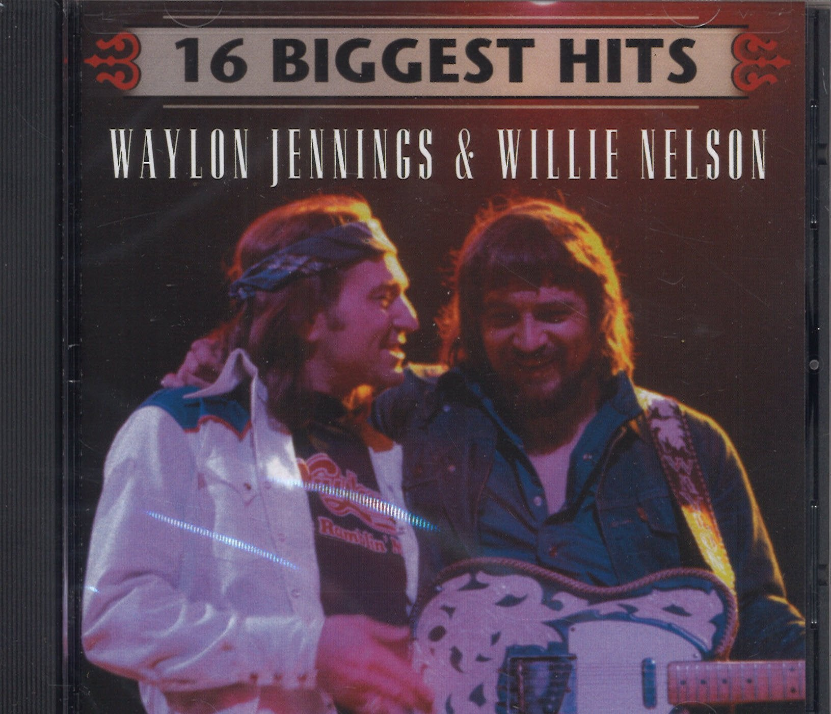 Waylon Jennings & Willie Nelson 16 Biggest Hits