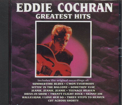 Eddie Cochran Greatest Hits