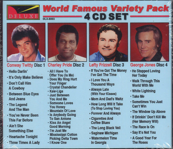 World Famous Variety Pack 8003: 4 CD Set