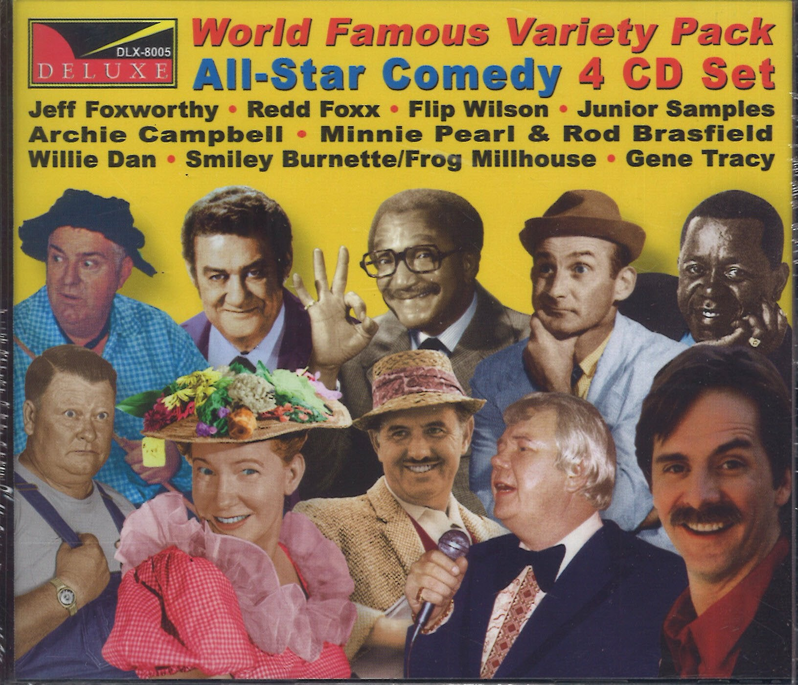 Various Artists World Famous Variety Pack Comedy: 4 CD Set