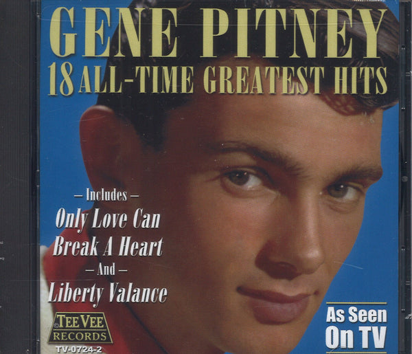 Gene Pitney 18 All-Time Greatest Hits