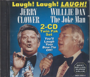 Jerry Clower & Willie Dan Laugh! Laugh! Laugh!: 2 CD Set