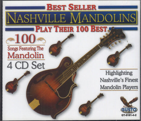 Nashville Mandolin Play Their 100 Best: 4 CD Set