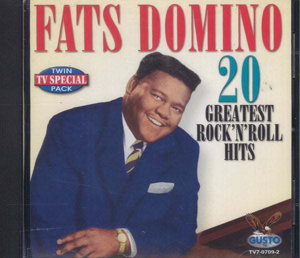 Fats Domino 20 Greatest Rock N Roll Hits