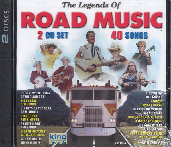 Various Artists The Legends Of Road Music: 2 CD Set