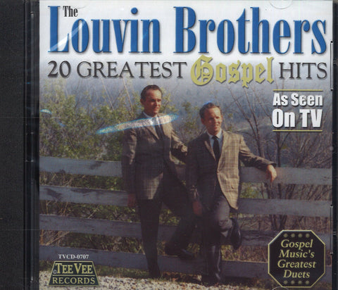The Louvin Brothers 20 Greatest Gospel Hits