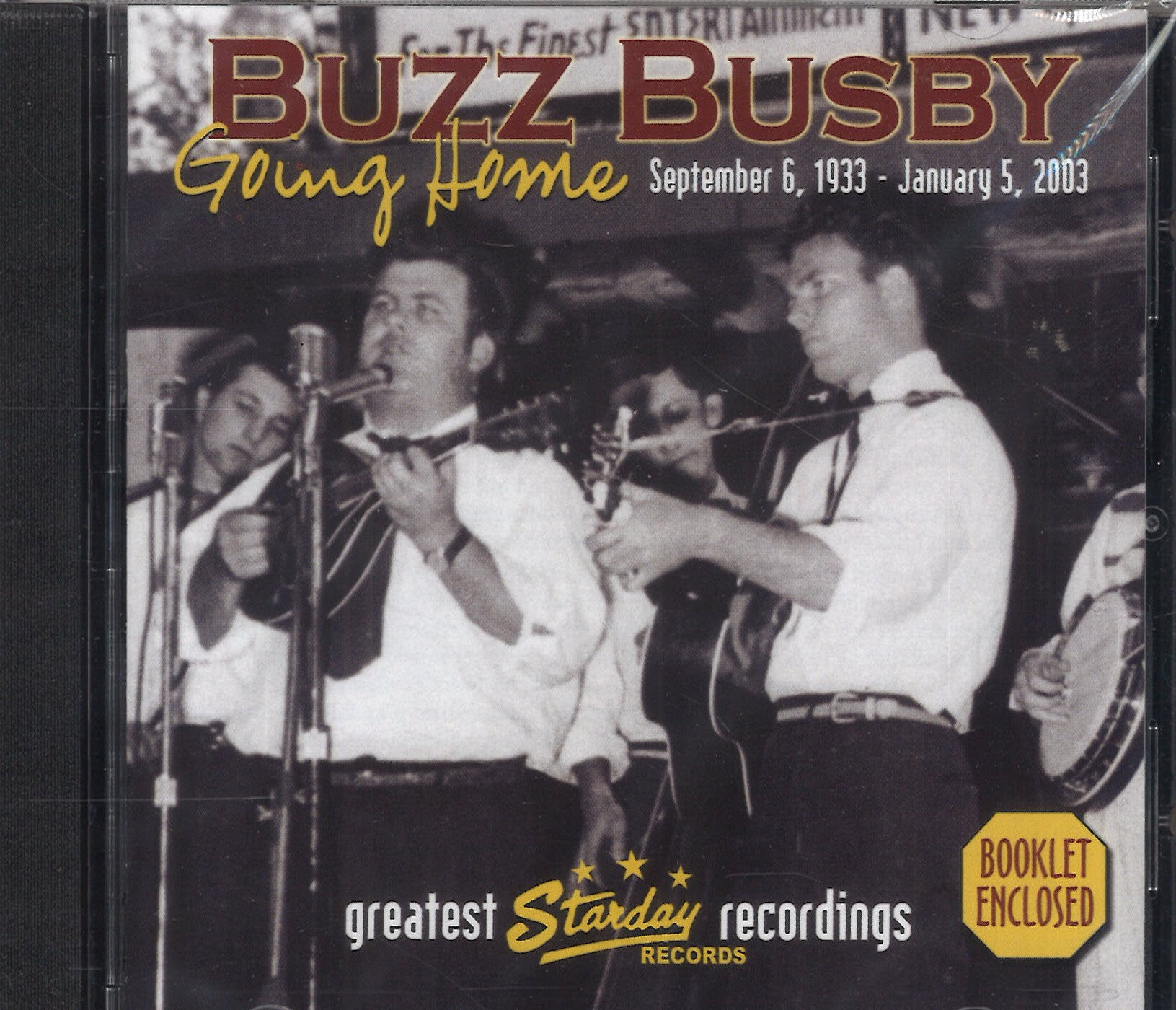Buzz Busby Going Home