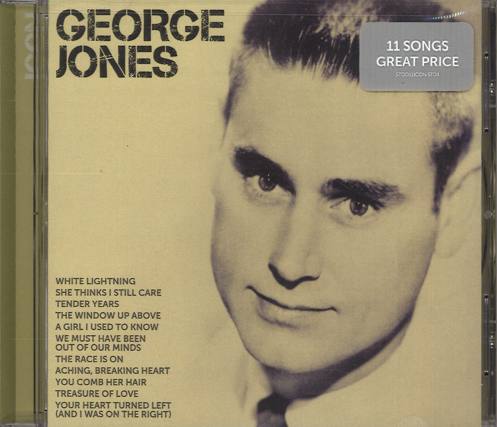 George Jones Icon