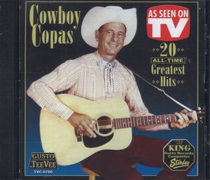 Cowboy Copas 20 All-Time Greatest Hits