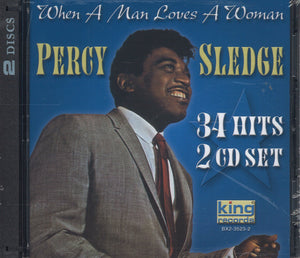 Percy Sledge When A Man Loves A Woman: 2 CD Set