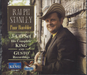 Ralph Stanley Poor Rambler: 3 CD Set