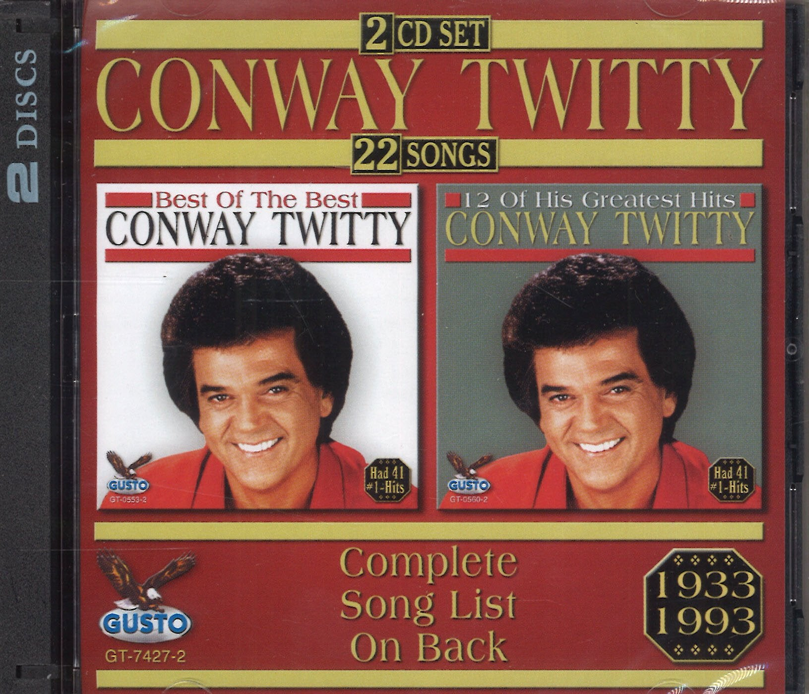 Conway Twitty: 2 CD Set
