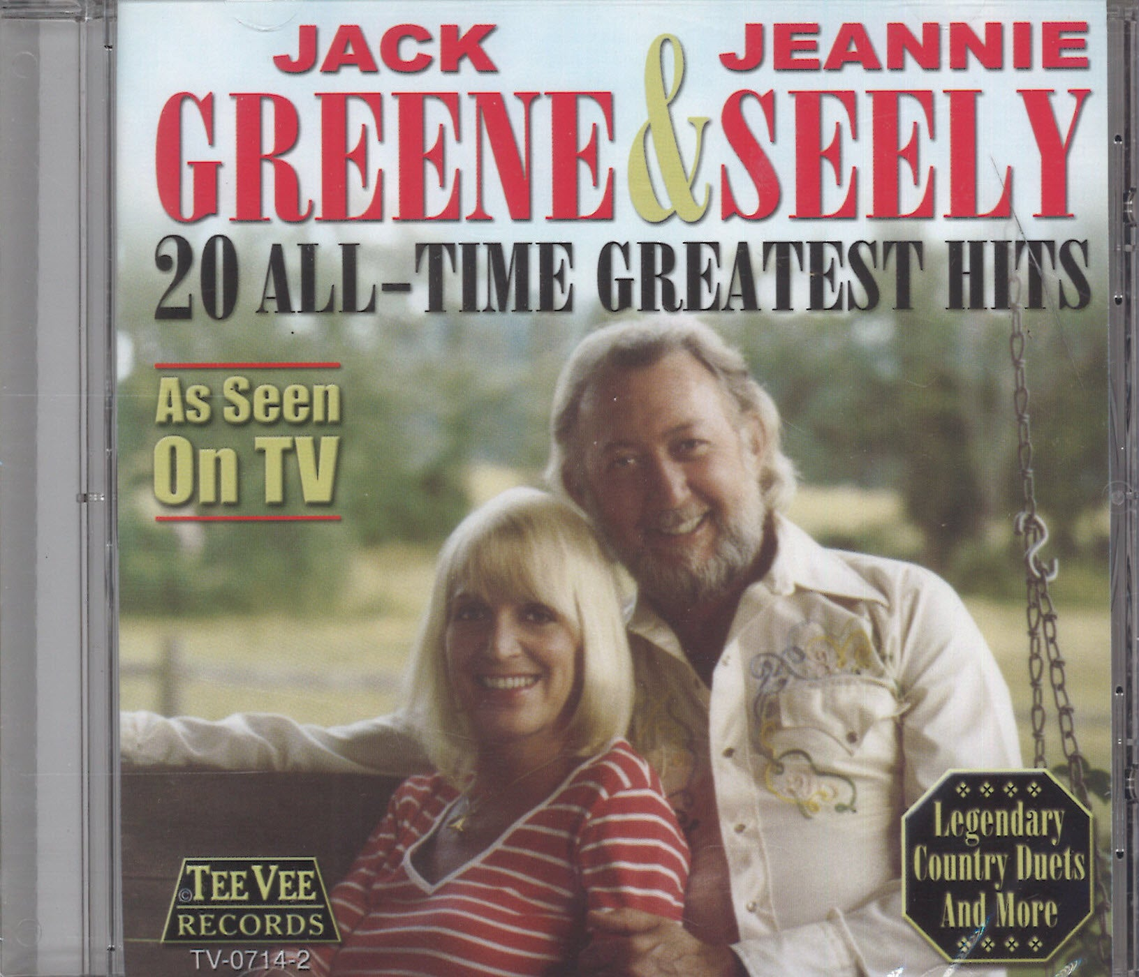 Jack Greene & Jeannie Seely 20 All-Time Greatest Hits