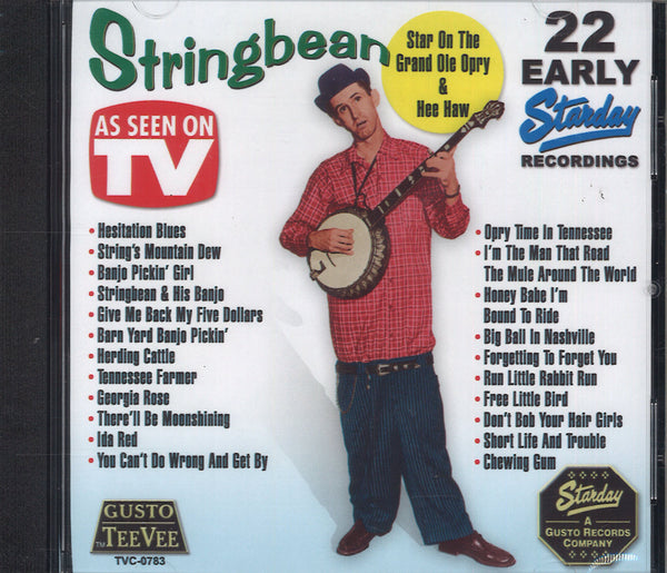 Stringbean 22 Early Starday Recordings