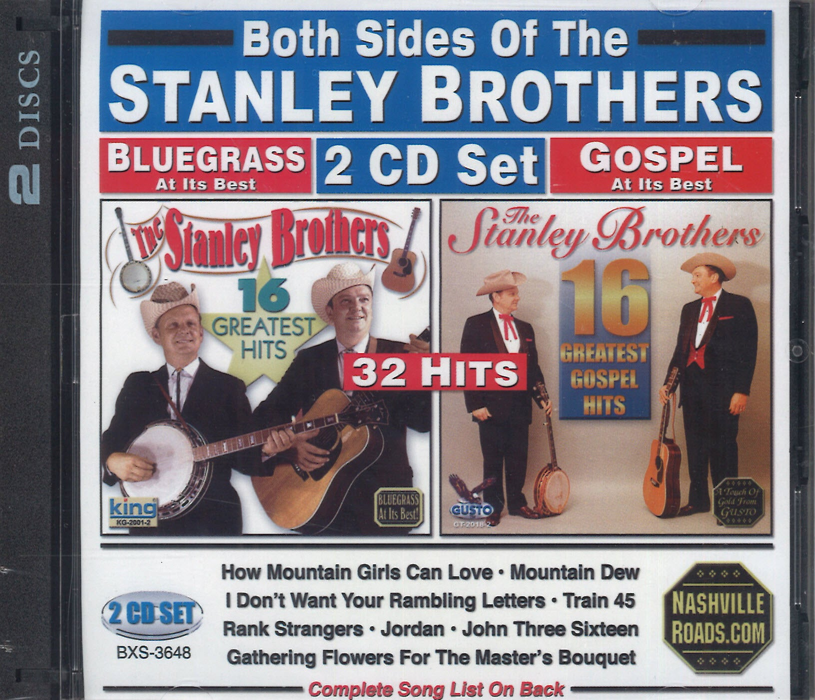 Both Sides Of The Stanley Brothers: 2 CD Set