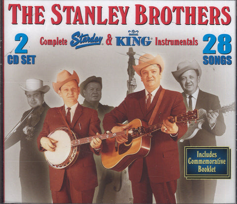 Stanley Brothers Complete Starday & King Instrumentals: 2 CD Set