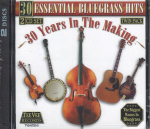 Various Artists 30 Essential Bluegrass Hits: 2 CD Set