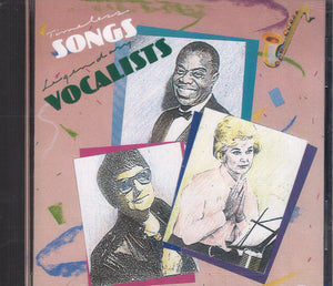 Various Artists Timeless Songs Legendary Vocalists