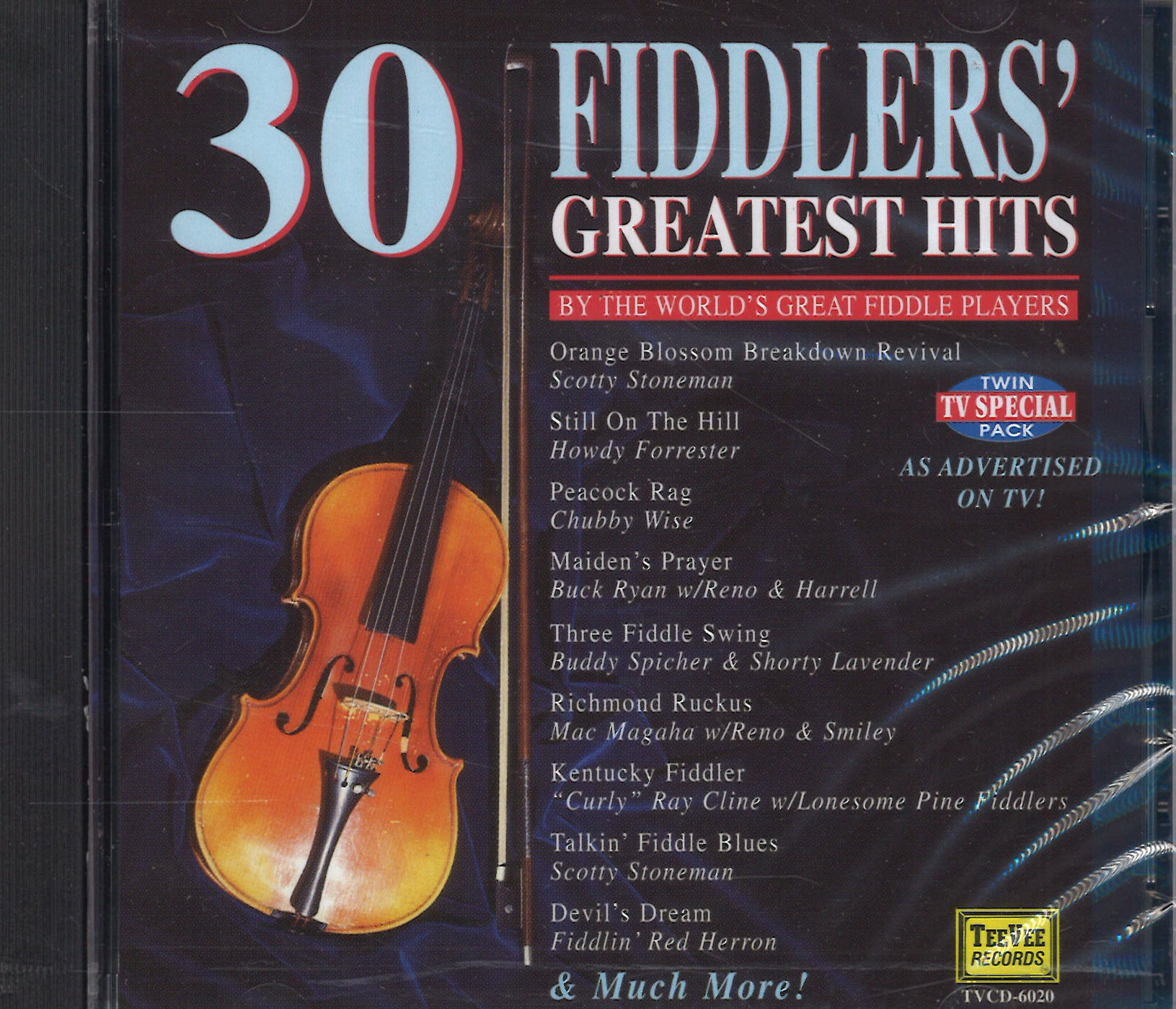 Various Artists 30 Fiddlers' Greatest Hits