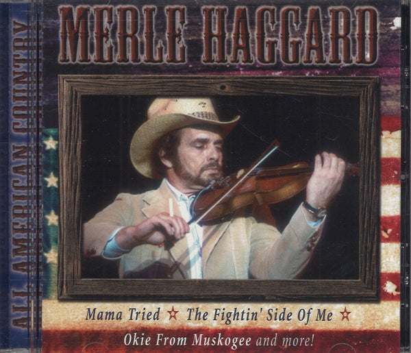 Merle Haggard All American Country