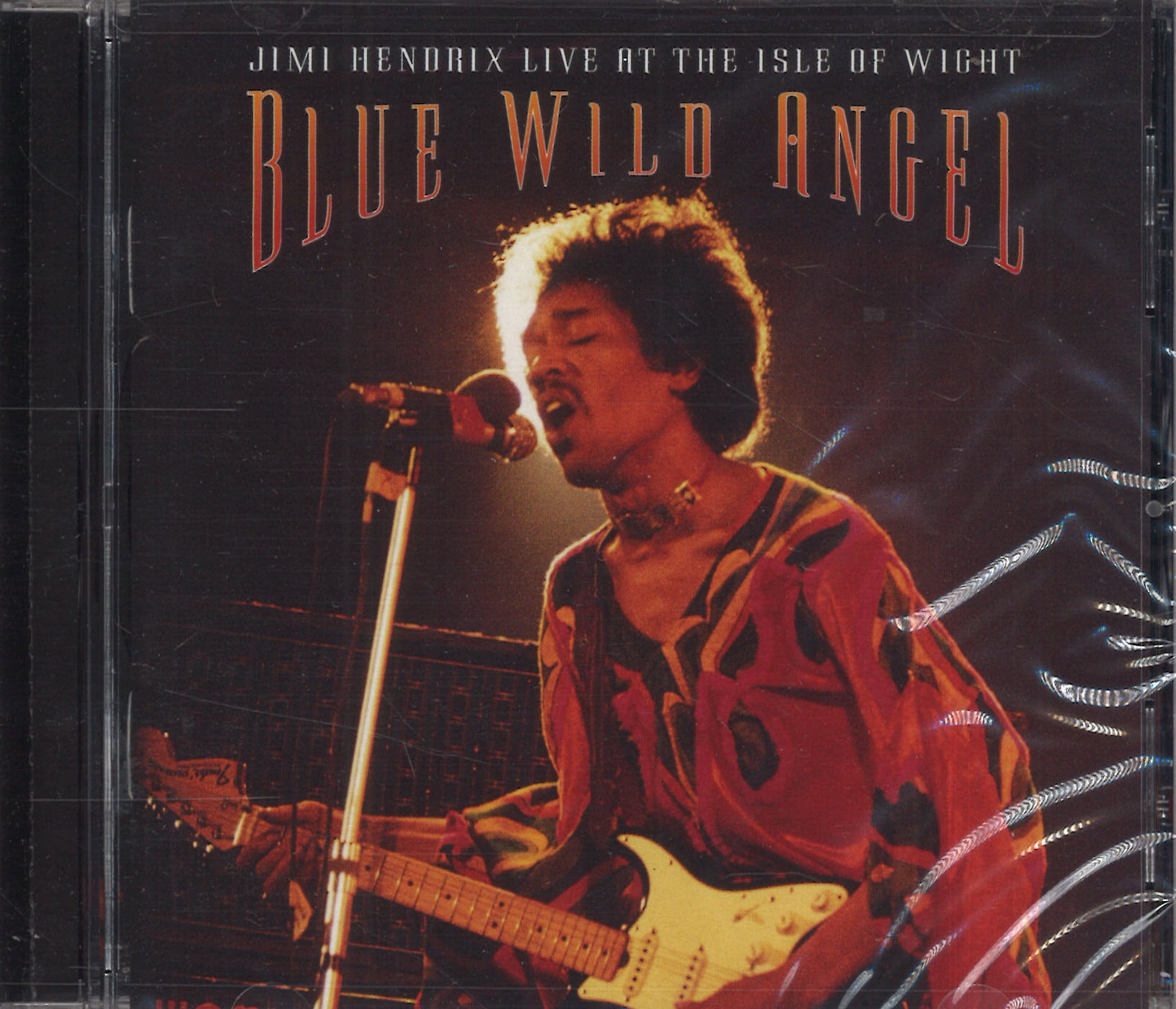 Jimi Hendrix Live At The Aisle of Wight - Blue Wild Angel
