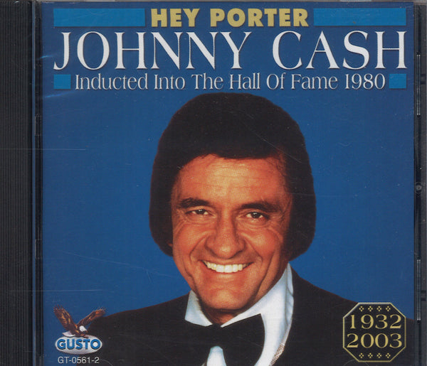 Johnny Cash Inducted Into The Hall Of Fame 1980
