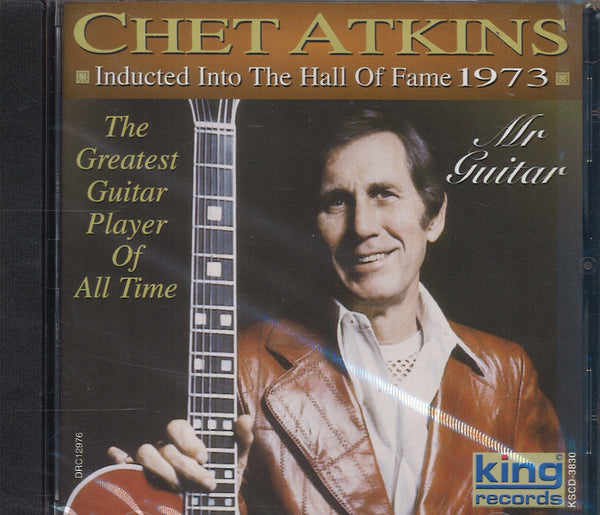 Chet Atkins Inducted Into The Hall Of Fame 1973
