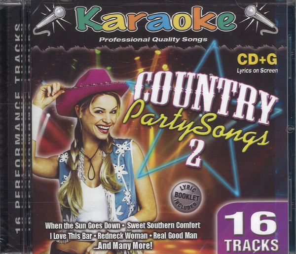 Karaoke Country Party Songs 2