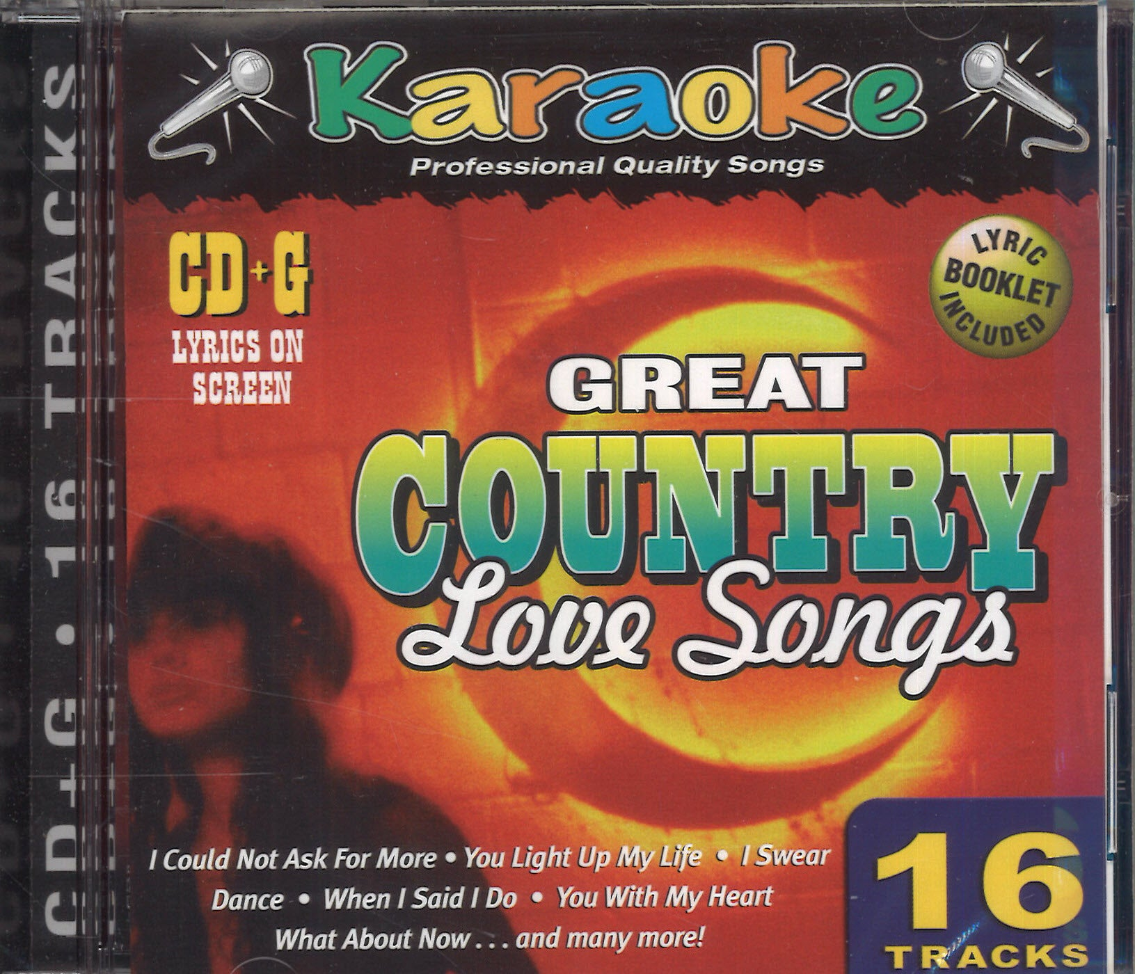 Karaoke Great Country Love Songs