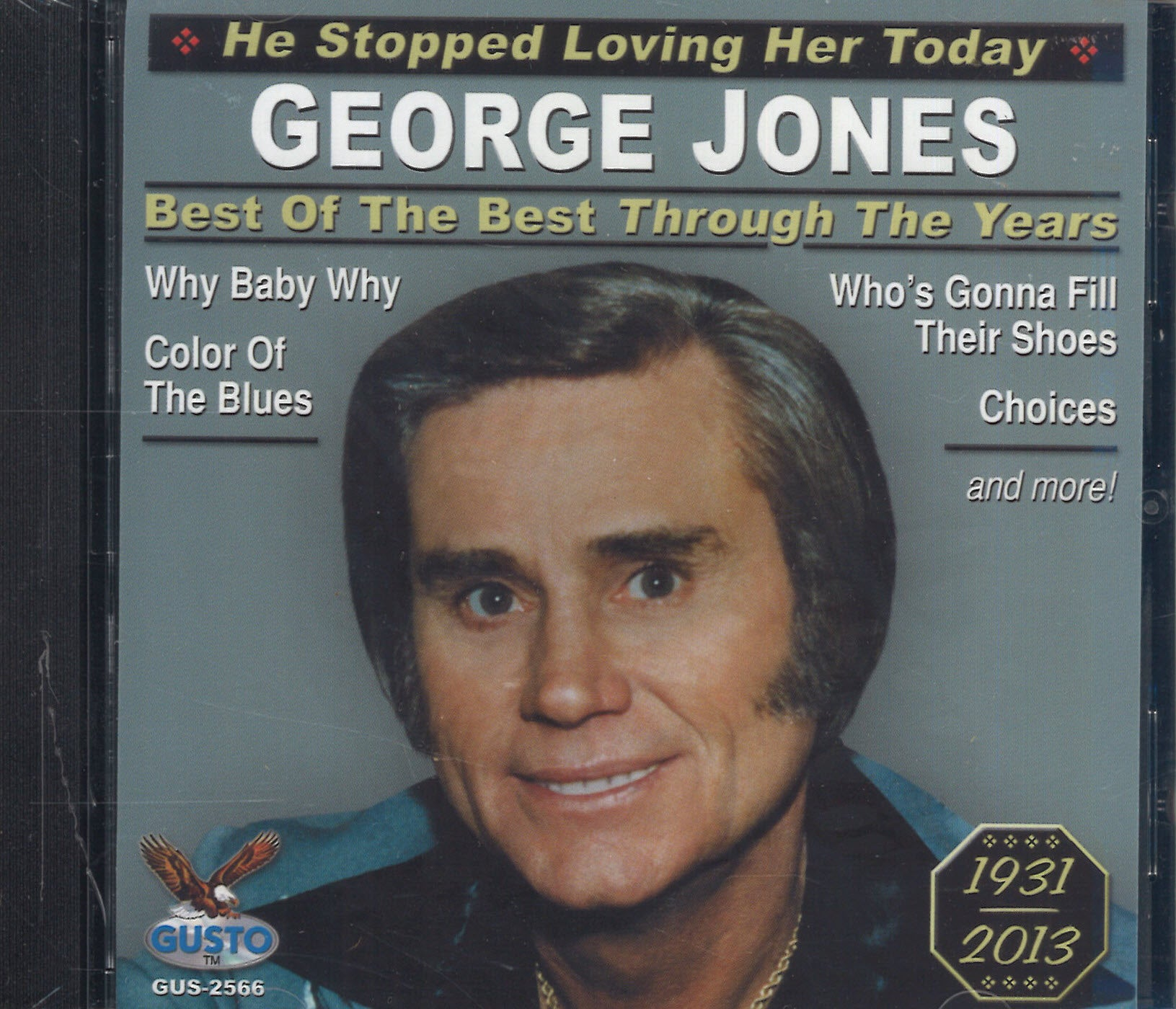George Jones Best Of The Best Through The Years